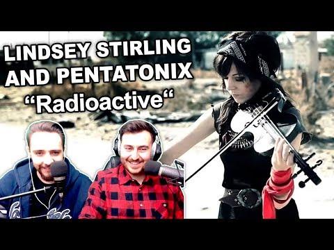 """Lindsey Stirling and Pentatonix - Radioactive"" Singers Reaction"
