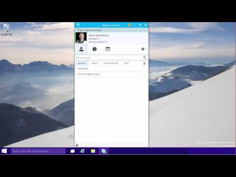Office 2016 - Lync becomes Skype for Business