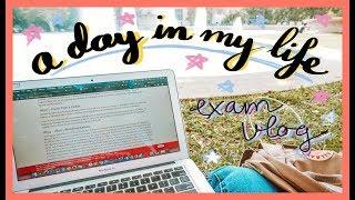 [VLOG] 📚 LẠI LÀ MỘT CHIẾC VLOG HỌC THI (hơi hơi) SẤP MẶT 😅 A Day In My Life 🇺🇸 | Diane Le