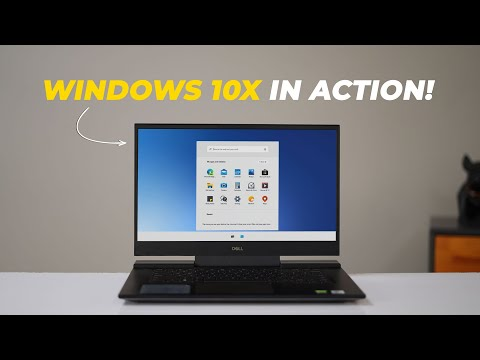 Windows 10X First Impressions: Finally Something New!