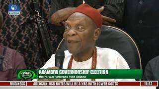 News Across Nigeria: Biafra War Veterans Visit Obiano