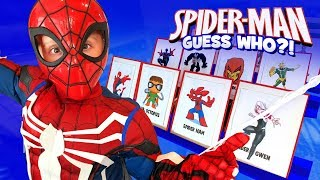 Spider-Man: Into the Spider-Verse GUESS WHO?! | KIDCITY
