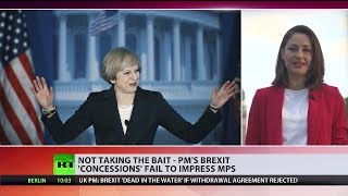 Not taking the bait - PM's #Brexit 'concessions' fail to impress MPs