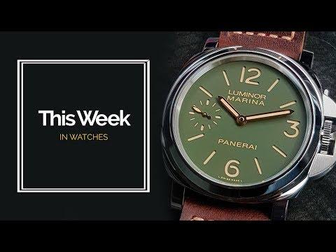 Grand Seiko V. NOMOS: Panerai, Oris &, Mortiz Grossmann New Watches