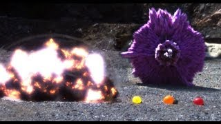 Explosion Shockwave in slow motion - Slo Mo #30 - Earth Unplugged