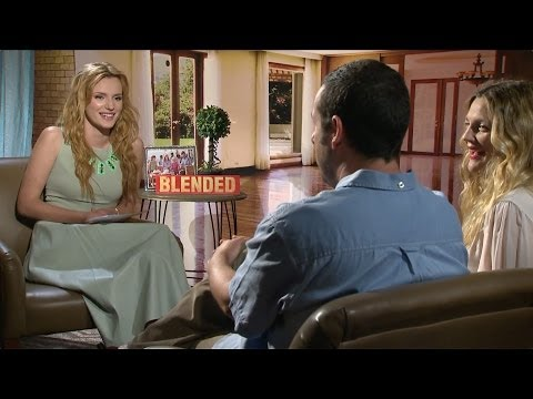 Blended - Bella Thorne Interviews Adam Sandler and Drew Barrymore [HD]