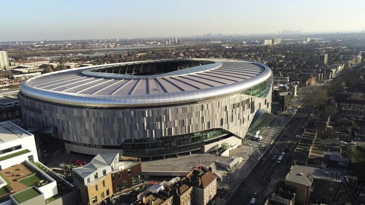 21/02/19 Tottenham Hotspur New Stadium - YouTube