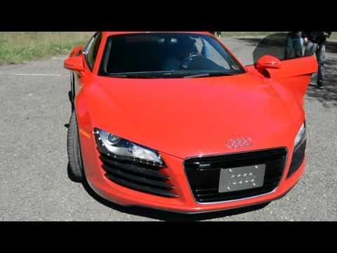 Audi R8 V8 startup plus exhaust! Jeremy Kinneer