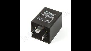 Реле поворотов электронное для светодиодов и светодтодных ламп ВАЗ, Chevrolet, KIA(При замене штатных поворотных ламп на светодиодные и включении поворотов они начинают очень быстро мигать,..., 2010-02-16T19:12:59.000Z)