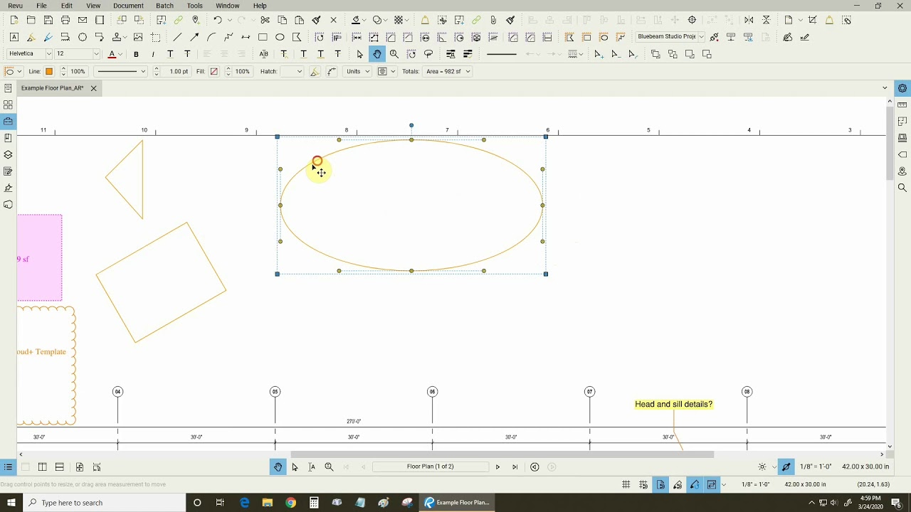 Sketch To Scale Tools In Bluebeam Revu Youtube