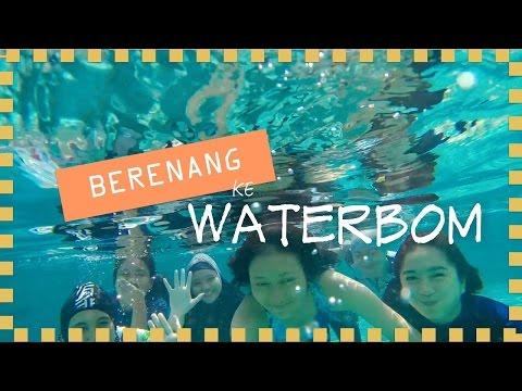 Berenang-renang ke Waterbom PIK jakarta |  very quick video |