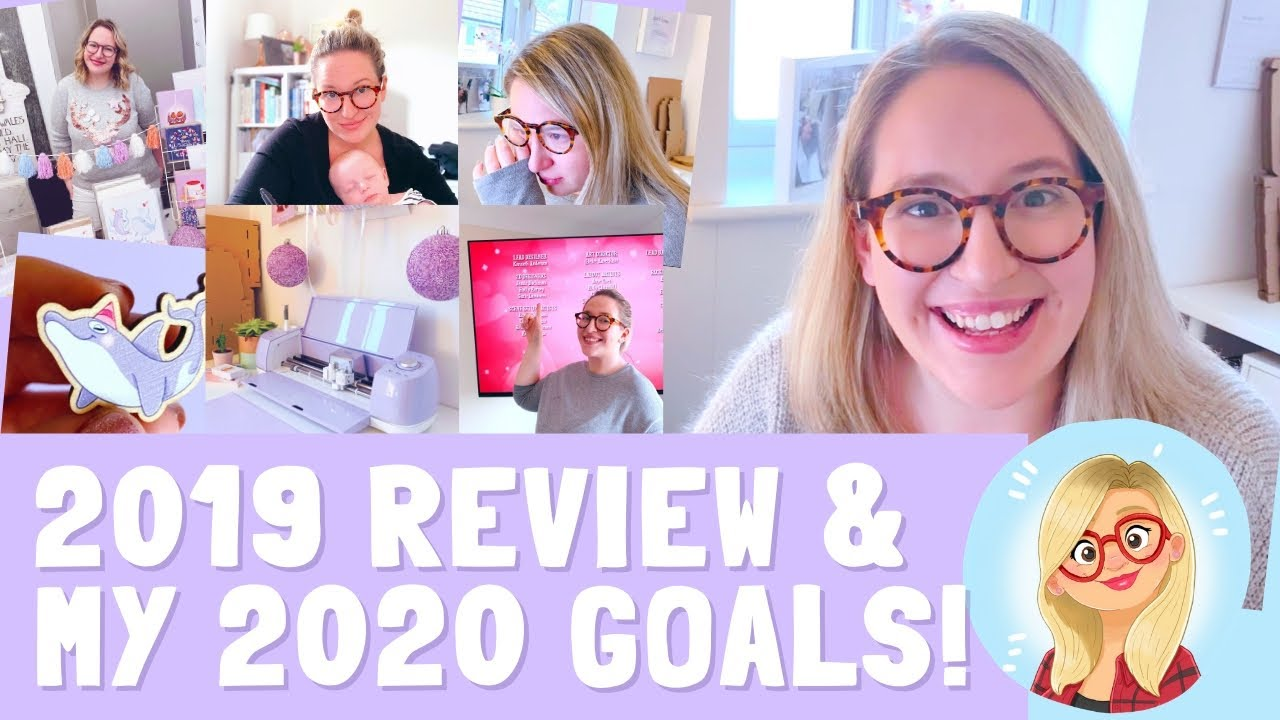 My Goals for 2020 & A 2019 Review! | Emily Harvey Art