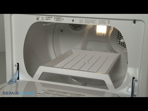 Whirlpool Gas Dryer Drying Rack Replacement (Model #WGD49STBW2)