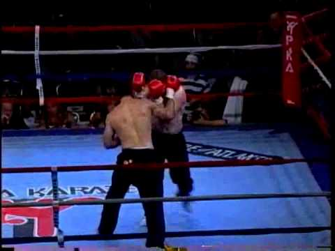 MMA Vs Point Karate Kickboxing Junior Asuncao Vs Joey Greenhalgh 2006 Battle Of Atlanta