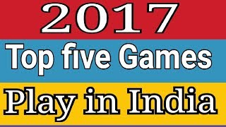 Top 5 free  offline android games of 2017  play in India with search proof #RG Advise