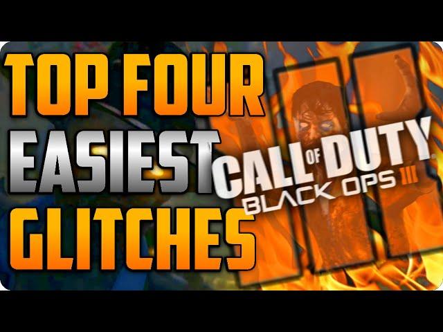 Black Ops 3 Zombie Glitches Top 4 Easiest Working Glitches (SOE) - BO3 Glitches