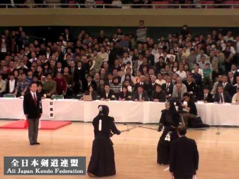 第58回全日本剣道選手権大会決勝 高鍋 x 内村
