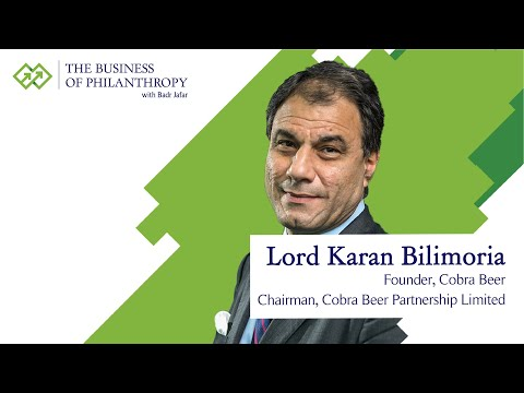 Lord Karan Bilimoria; A Conversation with Badr Jafar