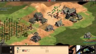 AoE 2 HD: 4v4 || nomad || random civ || ~1900 episode 59