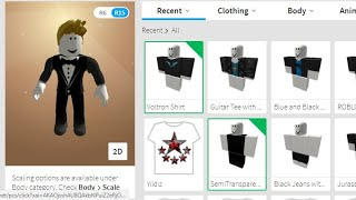 Roblox Free Clothes !!!