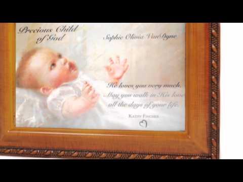 Precious Child of God Personalizable Music Box