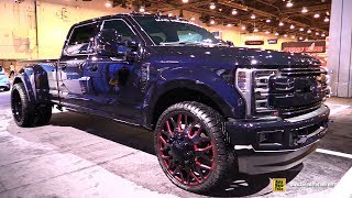 2017 Ford F350 Super Duty Lariat Crew Cab by Mad Industries - Exterior Walkaround - SEMA 2016
