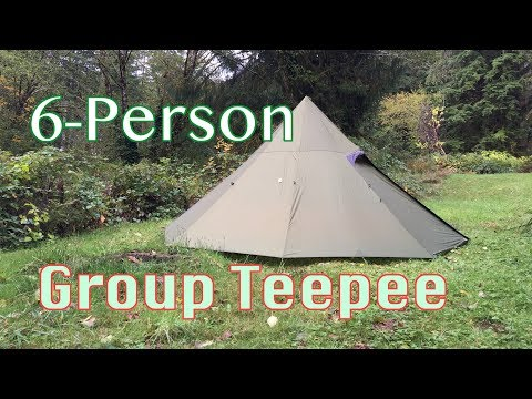 sale retailer b796f 83b5a Octopeak Teepee Tent (6-Person) Review - YouTube