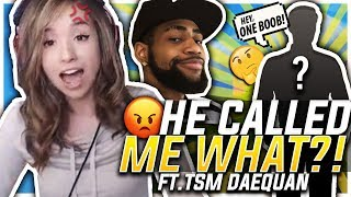 Download HE KEEPS CALLING ME WHAT?! FORTNITE DUO W/ TSM DAEQUAN! Mp3 and Videos