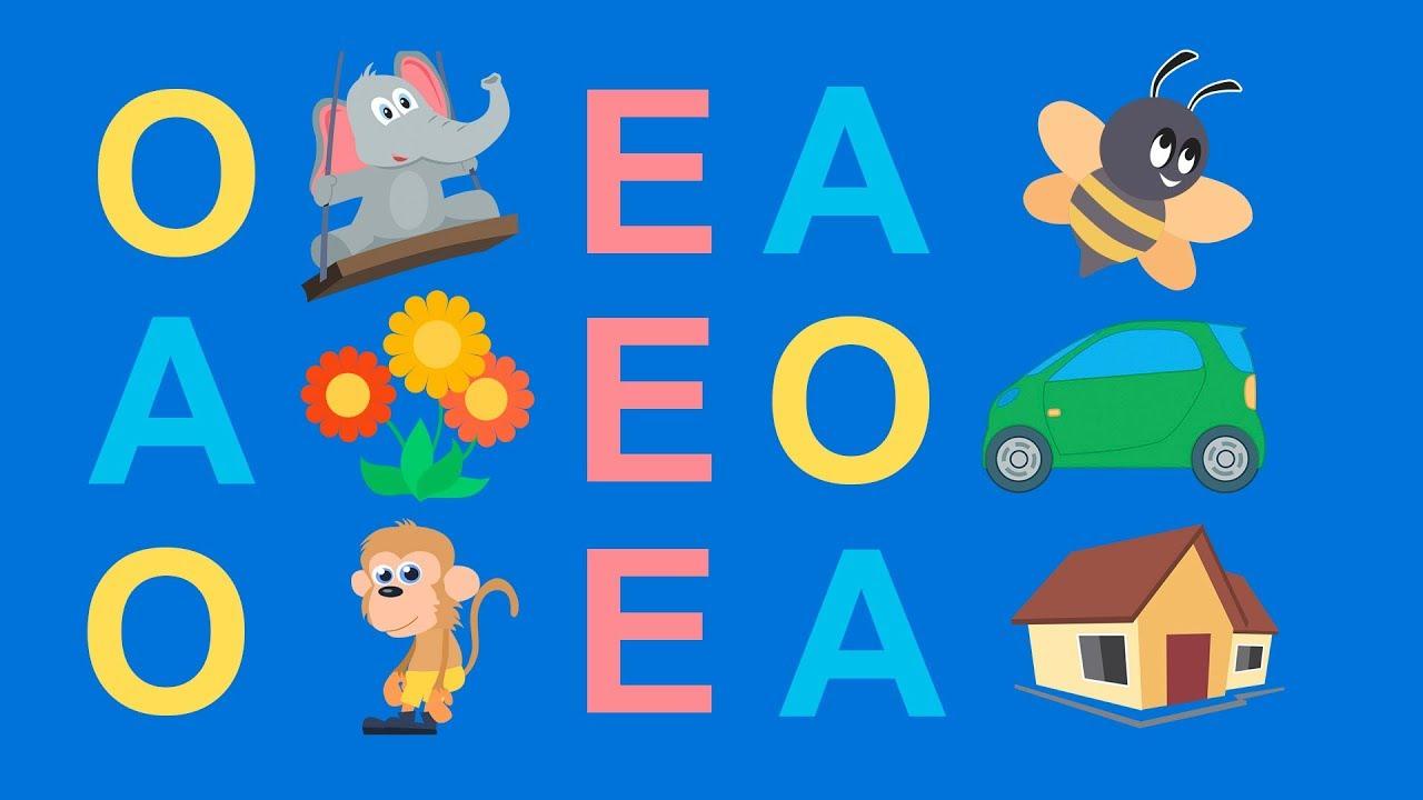Aprender A Ler Formando Frases Com Vogais E Figuras