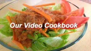 How To Make Fat Free Carrot Ginger Dressing Recipe | Our Video Cookbook #125