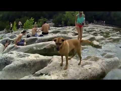 Barton Springs Greenbelt Hike Austin TX SUMMER 2013 GoPro Black Edition HD