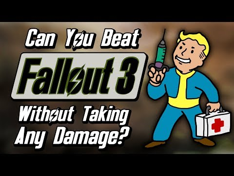 Can You Beat Fallout 3 Without Taking Any Damage? |