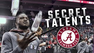 Alabama players unveil their 'secret talents' at CFP National Championship Media Day