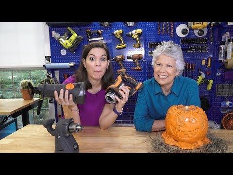 Workshop Wednesday: Make a Creepy Concrete Pumpkin + More!