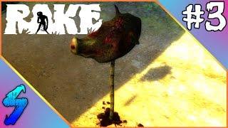 RAKE Gameplay | SPIKED PIG HEADS!! | PART 3 (HD 60FPS)