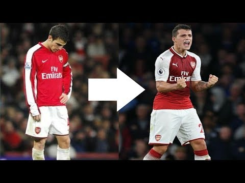 GRANIT XHAKA - THE NEW FABREGAS  ●2017-18● || HD ||