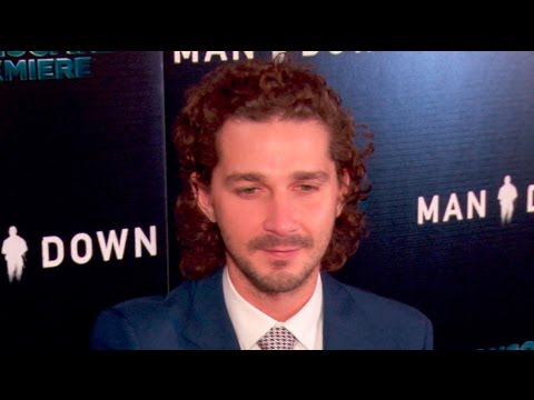 Shia LaBeouf & Kate Mara at the Man Down Premiere