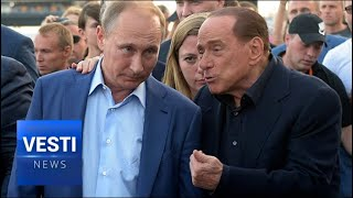 Berlusconi and Putin Hit It Off! Former Prime Minister Promises to Work on Lifting Sanctions!