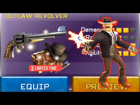 Respawnables OUTLAW REVOLVER Review - Outlaw Pack