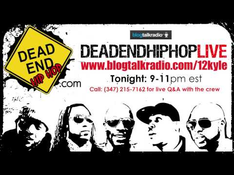 Tune in tonight at 9pm EST to catch DeadEndHipHop LIVE!