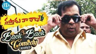 Vastadu Naa Raju Movie - Back To Back Comedy Scenes || Manchu Vishnu, Brahmanandam, Satyam Rajesh