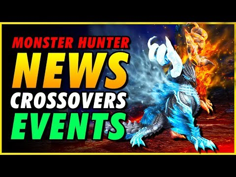 New Collaborations + New Events : MONSTER HUNTER NEWS
