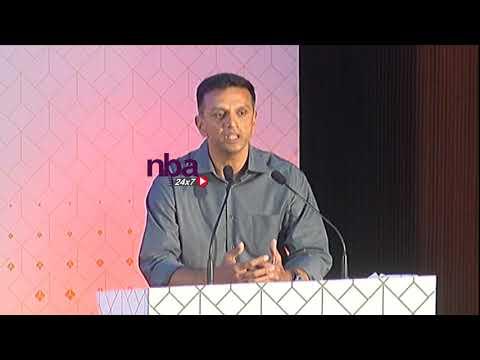 தோனி இந்தியாவின் பெருமை ராகுல் பேச்சு   | M S Dhoni is pride of India Rahul Dravid | nba 24x7