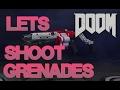 ☆Grenade Launcher + Super Shotgun Combo = Not bad!!!☆ (DooM 2016 Multiplayer)