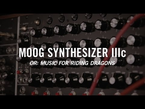 Moog Synthesizer IIIc (Or: Music For Riding Dragons)