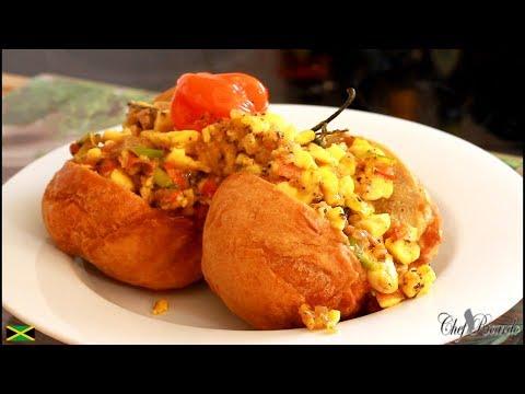 Jamaica Ackee Withe Fry Dumpling. (Caribbean Chef) | Recipes By Chef Ricardo
