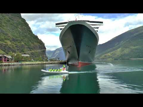 Queen Mary 2 - Flagship Voyage to The Fjords.