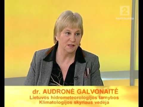 «Labas rytas» Klimatologė Audronė Galvonaitė: grįšime prie normalios lietuviškos žiemos