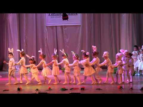 Зайчики шоу-студия Танцы плюс