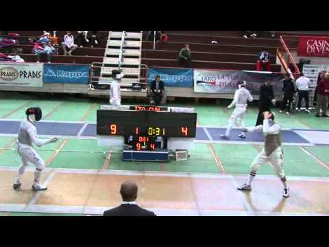 5032011 mf GP Individual Venise 16 yellow CHOI Byung Chul KOR 15 vs GOLDSTEIN Jeremy USA 8 sd No